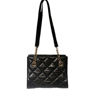 Talbots Leather Diamond Quilted Double Strap Purse